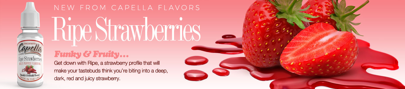 Bite into a deep, dark, red and juicy strawberry.