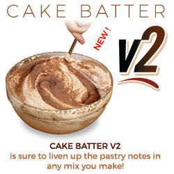 Cake Batter V2 is sure to liven up the pastry notes in any mix you make!