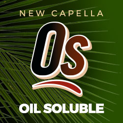 New From Capella: MCT - Based Oil Soluble Flavors