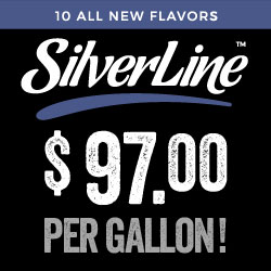 New SilverLine Flavors by Capella: Only $ 97 per Gallon !