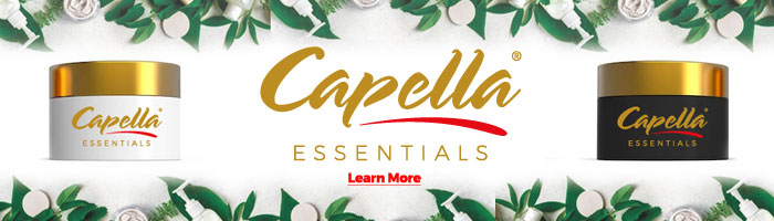 Introducing Capella Essentials. Natural • Pure • Made in California. Learn More.