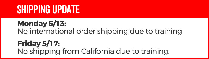 Shipping Update 3/6/19