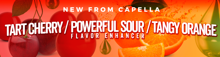 Tart Cherry, Tangy Orange & Powerful Sour - 3 New Flavors for Fall 2018