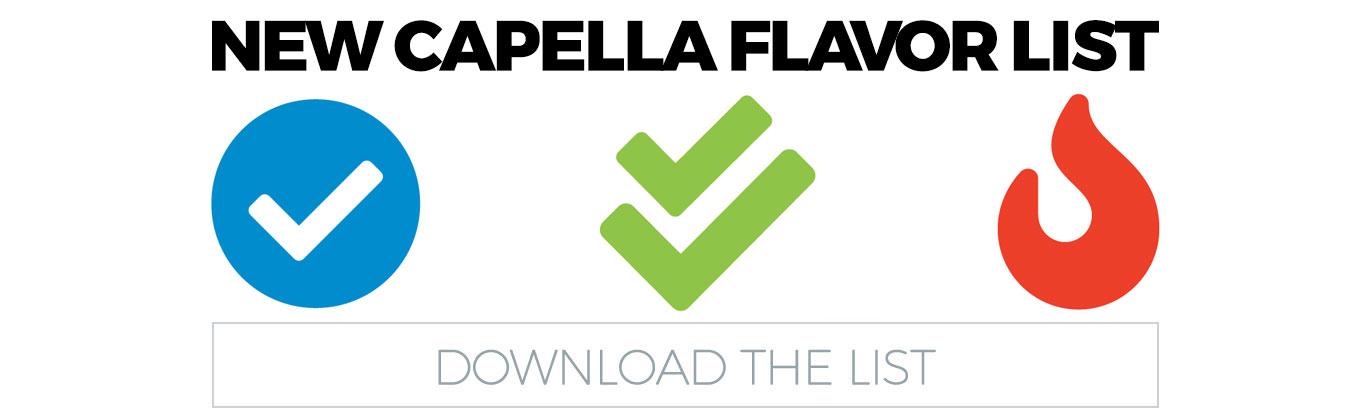 Download the Capella Flavor List PDF